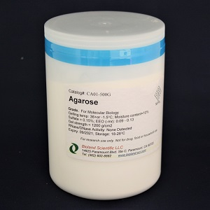 Agarose (For molecular biology, Low EEO, 500 g)