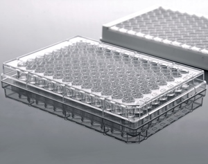 96-Well ELISA Plate, High Binding, Clear, 5/pk, 50/case
