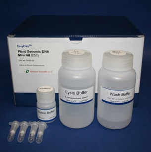 Plant genomic DNA miniprep kit (250 Preps)