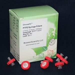 13mm PTFE Syringe Filters (Non-Sterile, 0.22um, 100/pk) - Click Image to Close