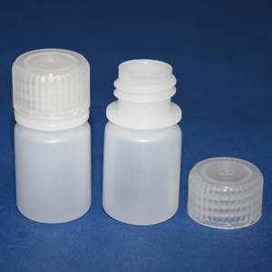 10ml Polypropylene Plastic Bottles (10/pk)