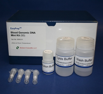 Blood DNA miniprep kit (50 Prep)