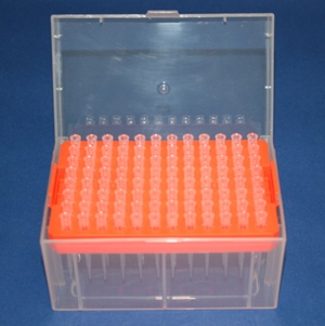 1000ul Tips (Boxed, 8 boxes/768 tips/cs, Sterile)