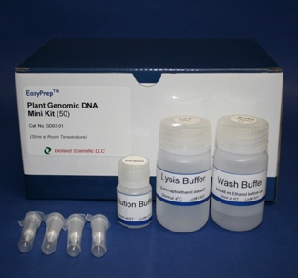 Plant genomic DNA miniprep kit (50 Preps)