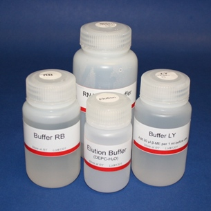 Buffer Set for RNA Minipreps (250 preps)