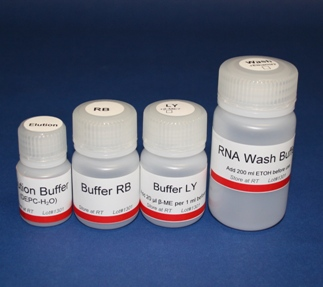 Buffer Set for RNA Minipreps (50 preps)