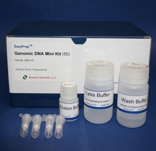Tissue Genomic DNA miniprep kit (50 Prep)